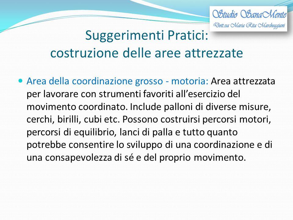 Suggerimenti Pratici: costruzione delle aree attrezzate