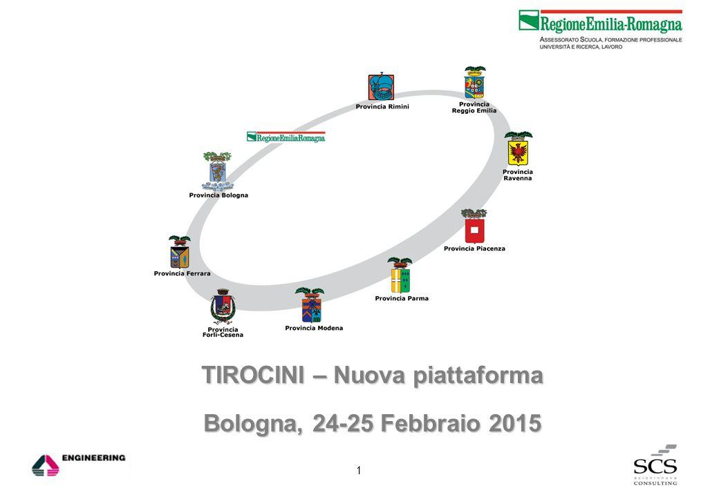 TIROCINI – Nuova piattaforma