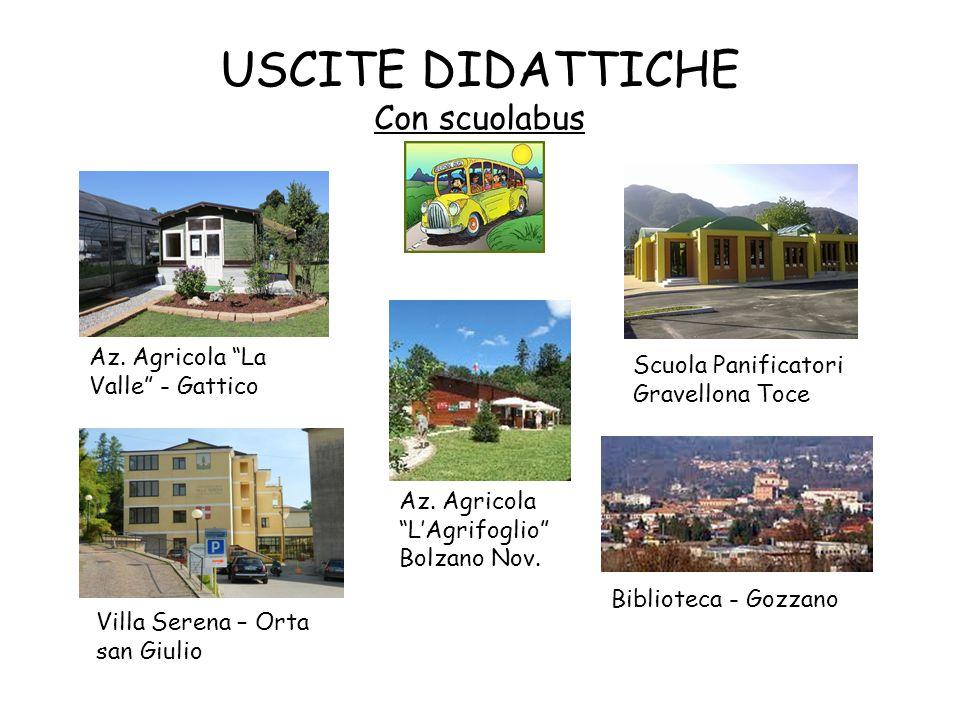 USCITE DIDATTICHE Con scuolabus