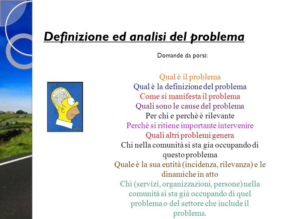 Definizione ed analisi del problema