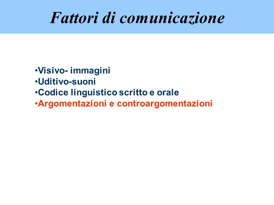 Fattori di comunicazione