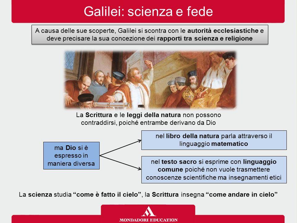 Galilei: scienza e fede