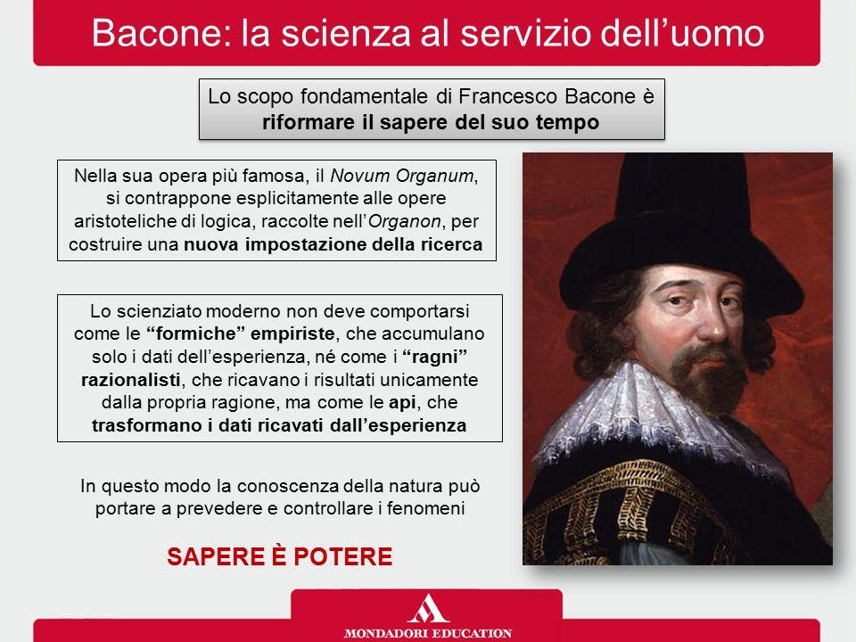 Bacone: la scienza al servizio dell'uomo