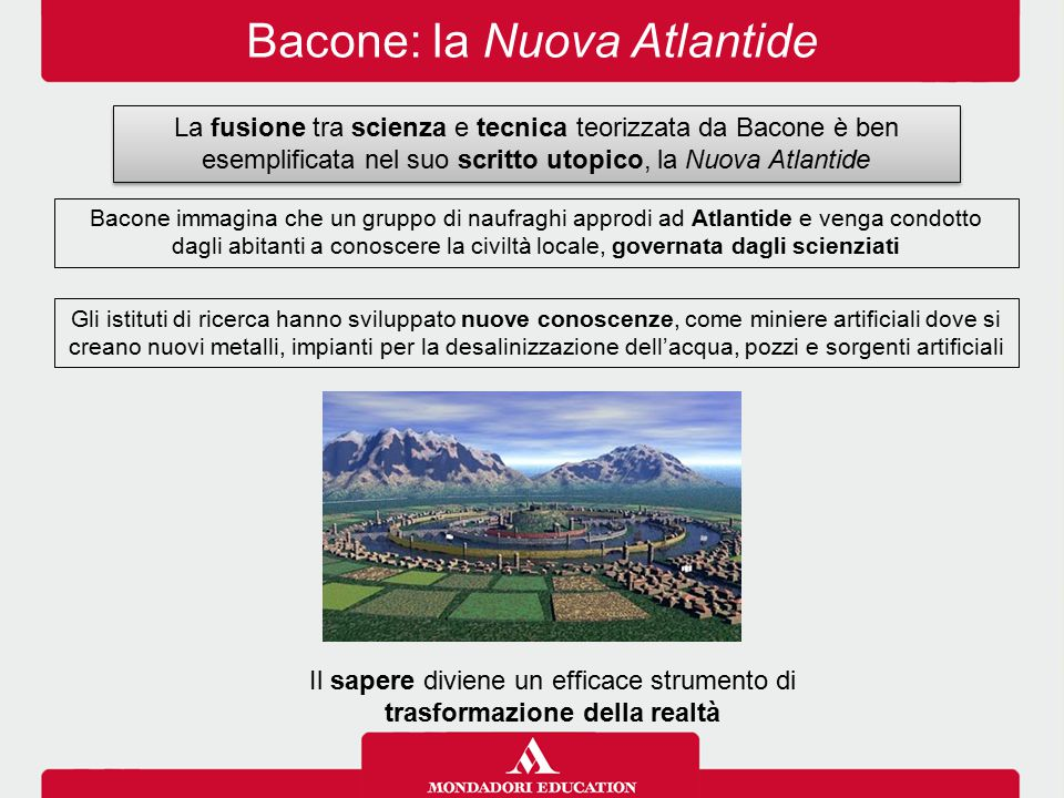 Bacone: la Nuova Atlantide