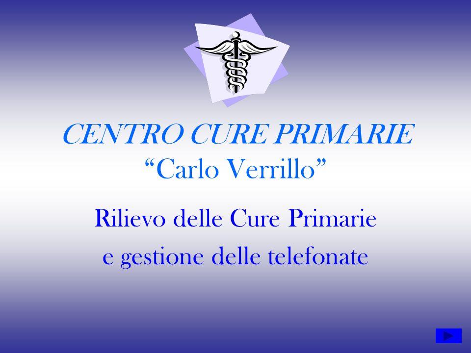 CENTRO CURE PRIMARIE Carlo Verrillo