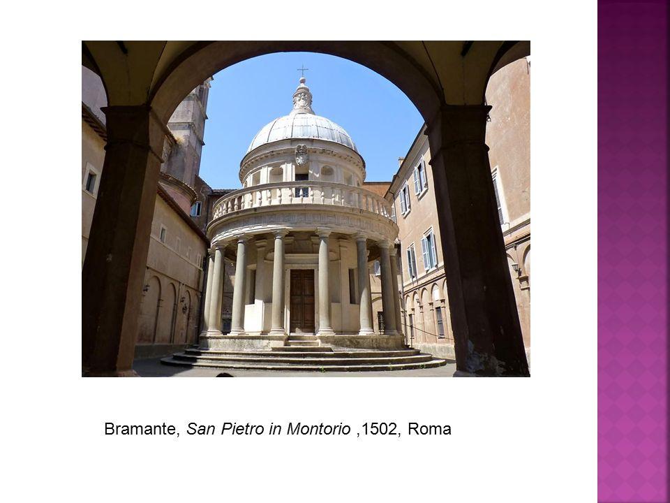 Bramante, San Pietro in Montorio ,1502, Roma