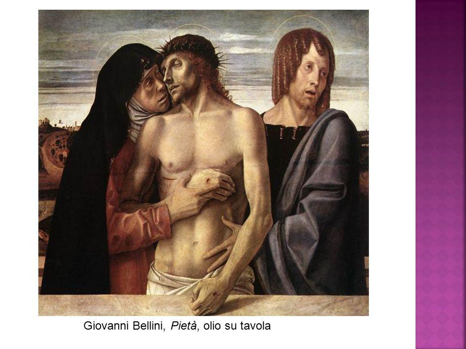 Giovanni Bellini, Pietà, olio su tavola