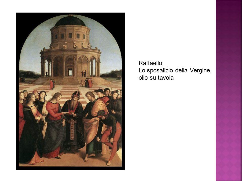 Raffaello, Lo sposalizio della Vergine, olio su tavola