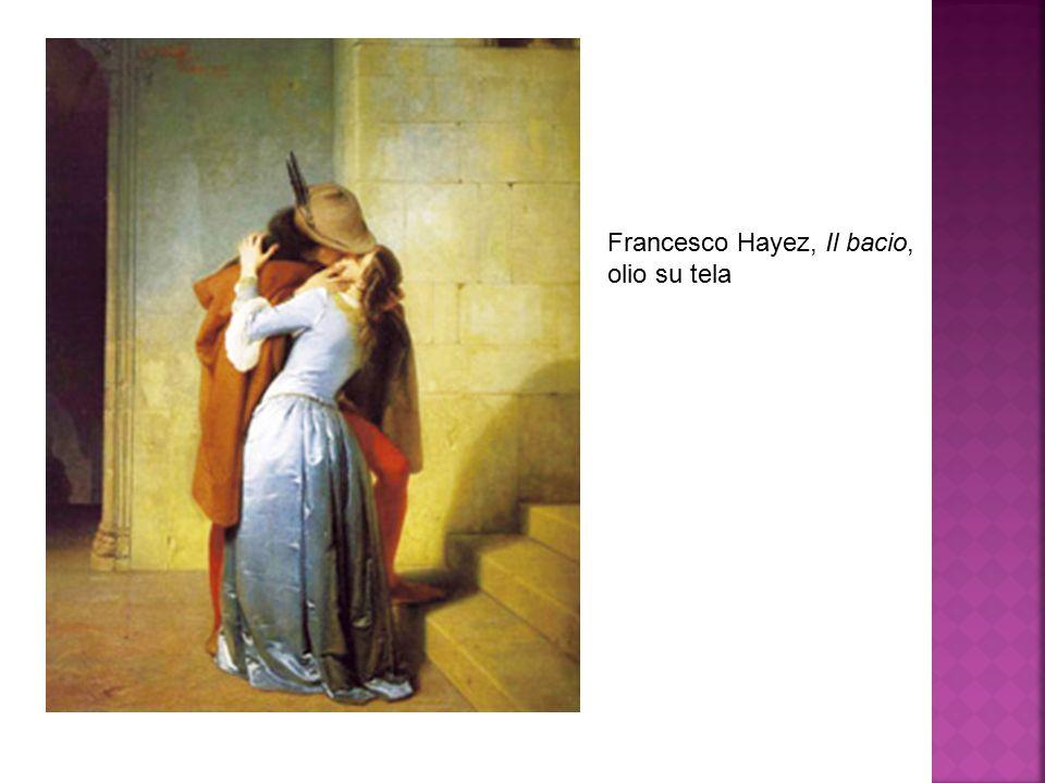 Francesco Hayez, Il bacio, olio su tela