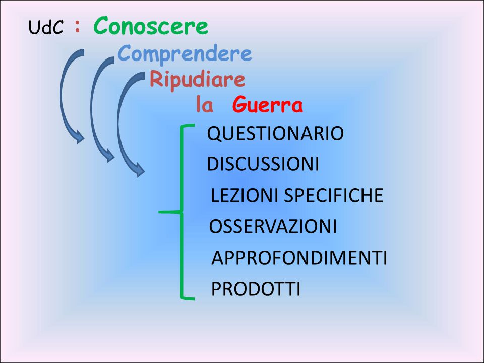 QUESTIONARIO DISCUSSIONI LEZIONI SPECIFICHE OSSERVAZIONI