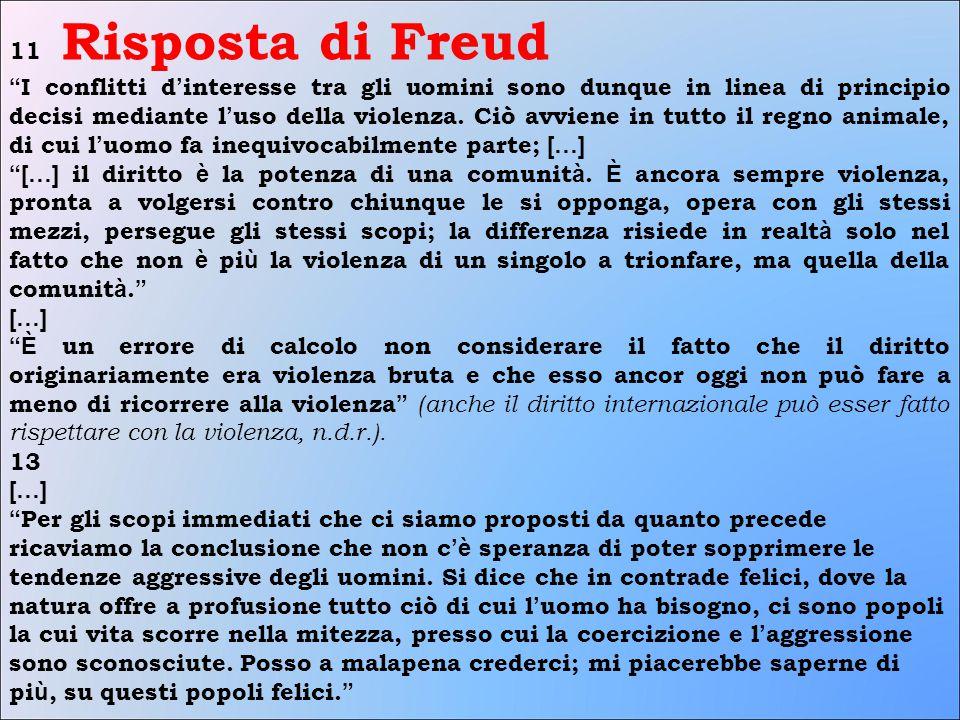 11 Risposta di Freud