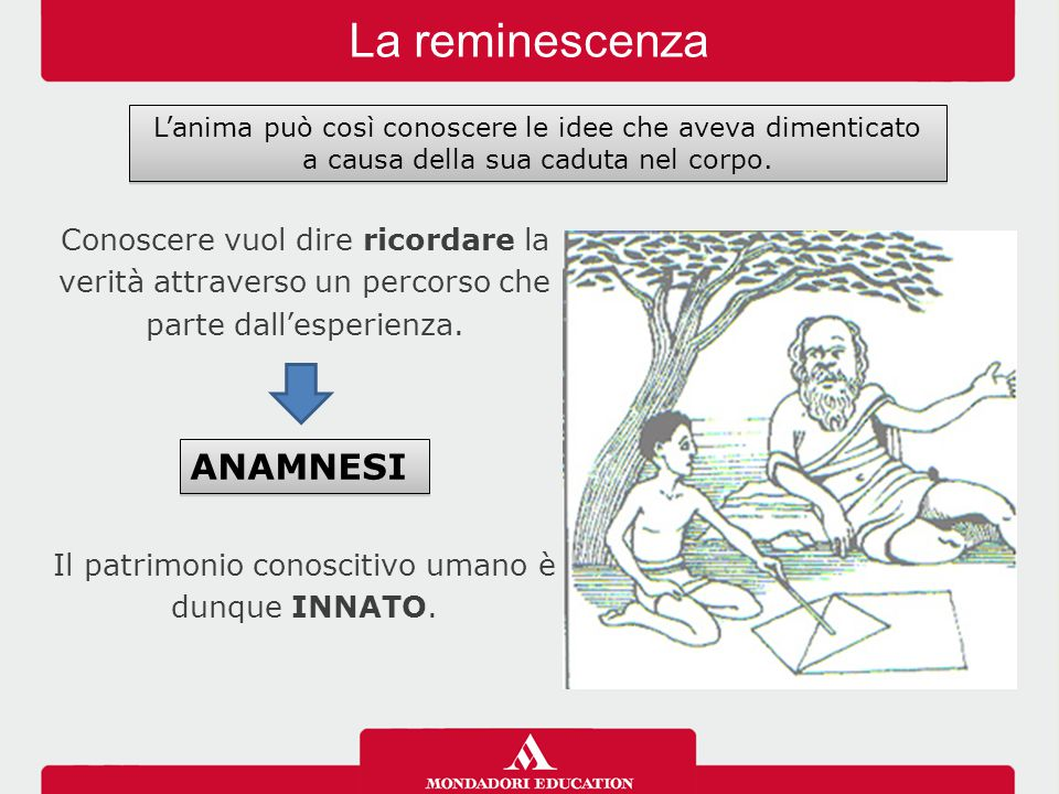 La reminescenza ANAMNESI