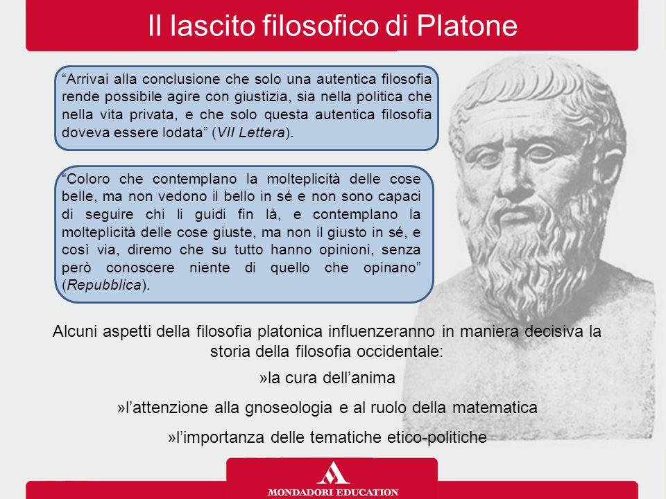 Il lascito filosofico di Platone