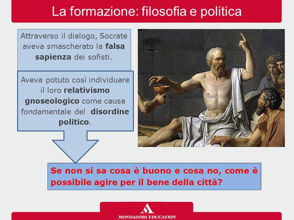 La formazione: filosofia e politica