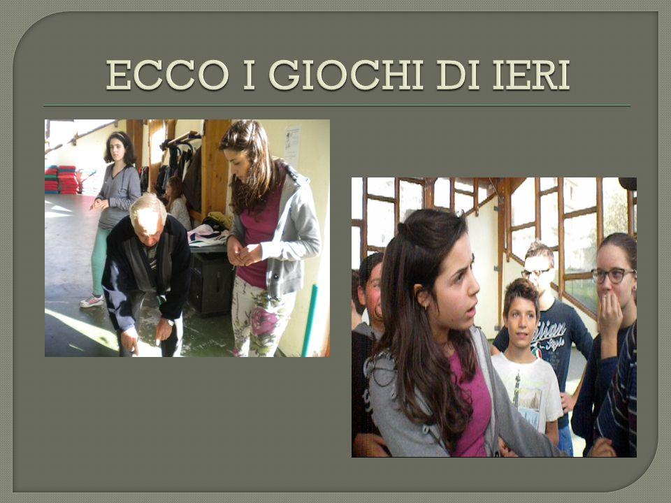 ECCO I GIOCHI DI IERI