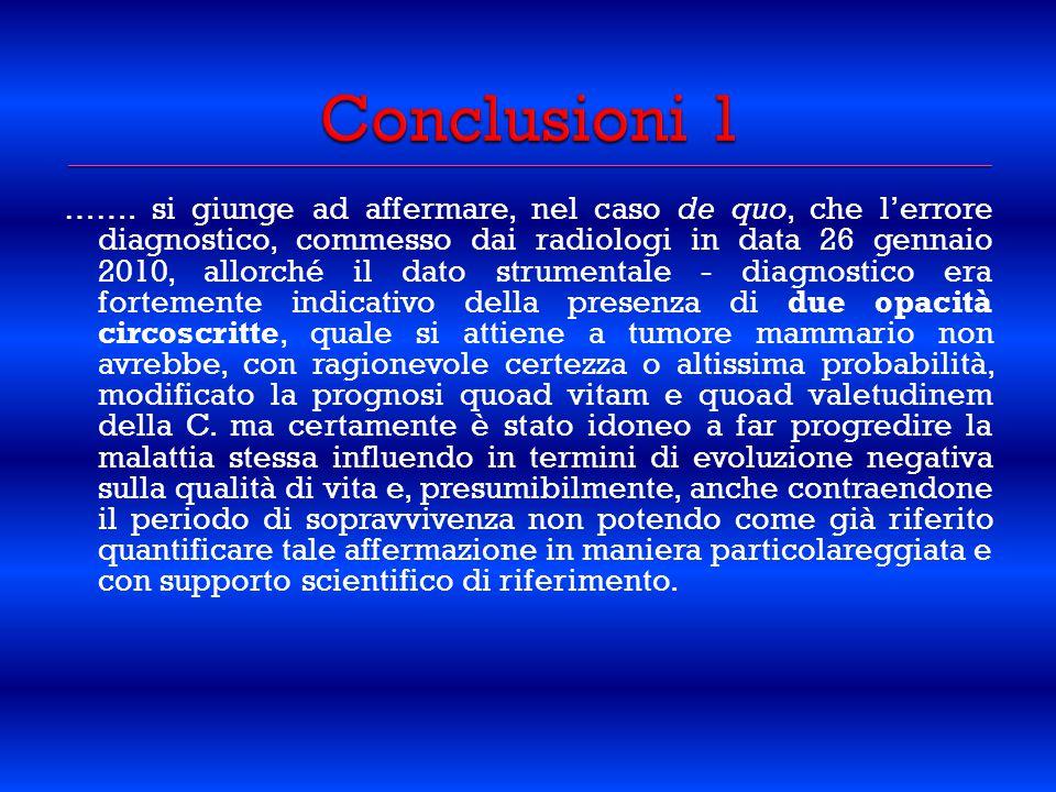 Conclusioni 1