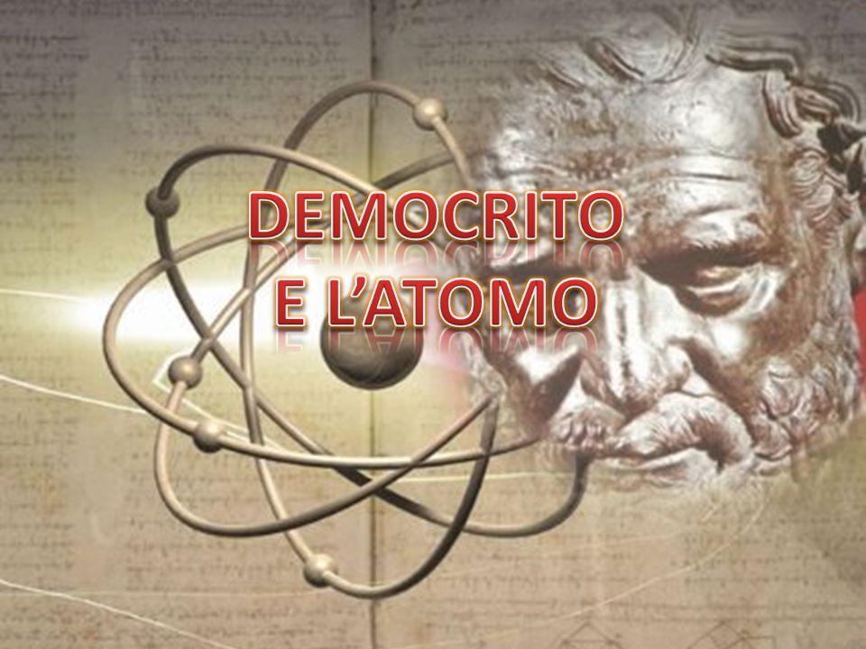 DEMOCRITO E L'ATOMO