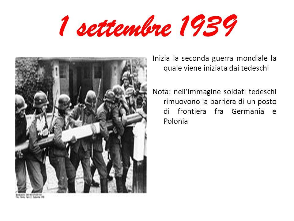 1 settembre 1939