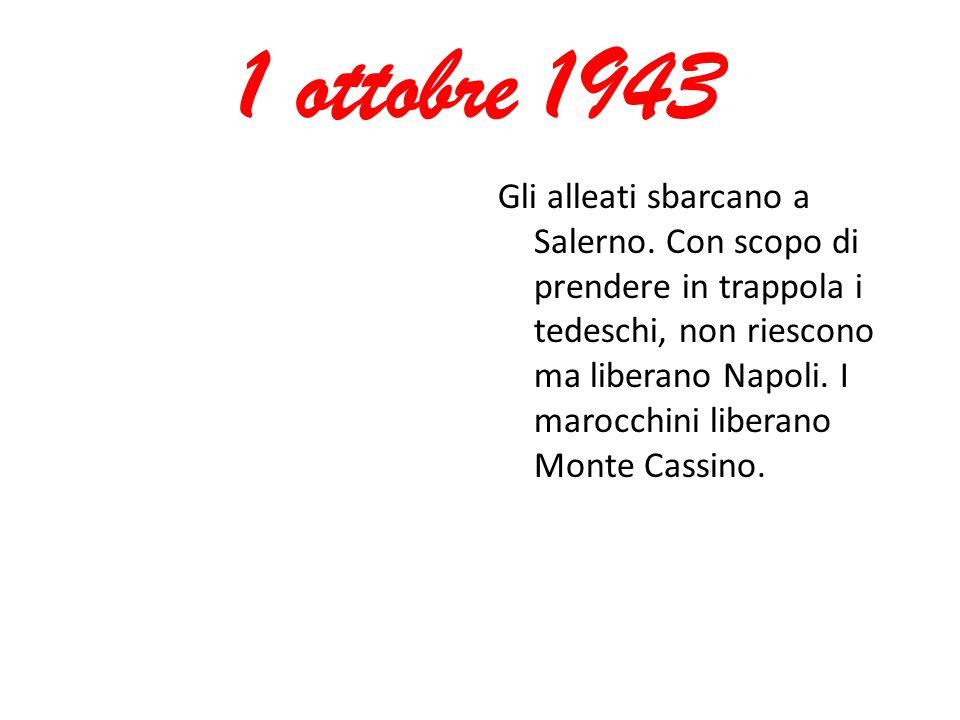 1 ottobre 1943
