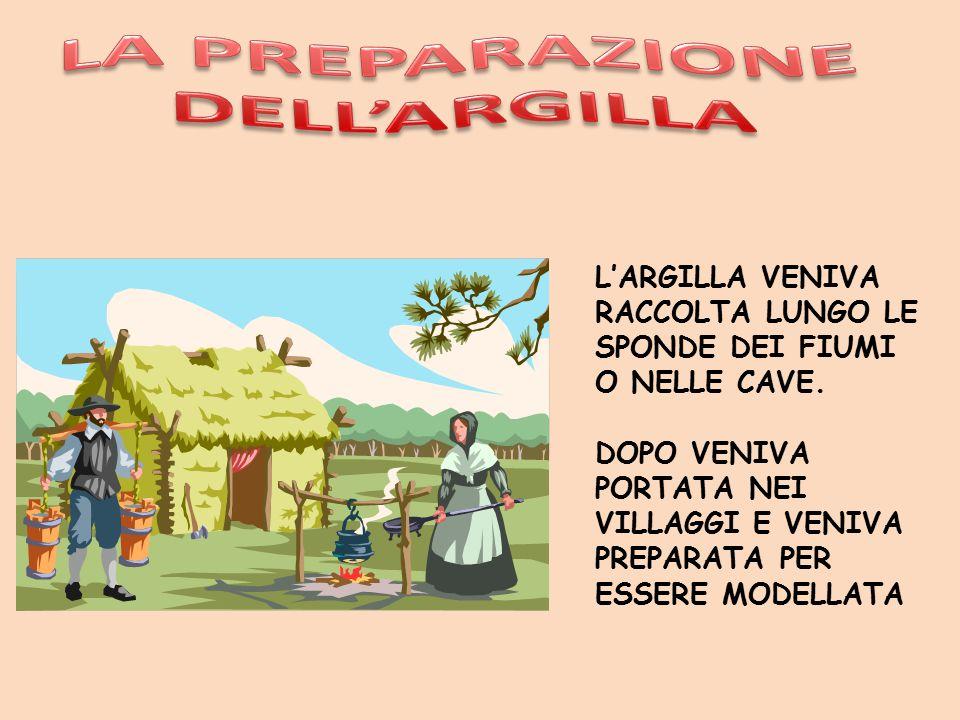 LA PREPARAZIONE DELL'ARGILLA