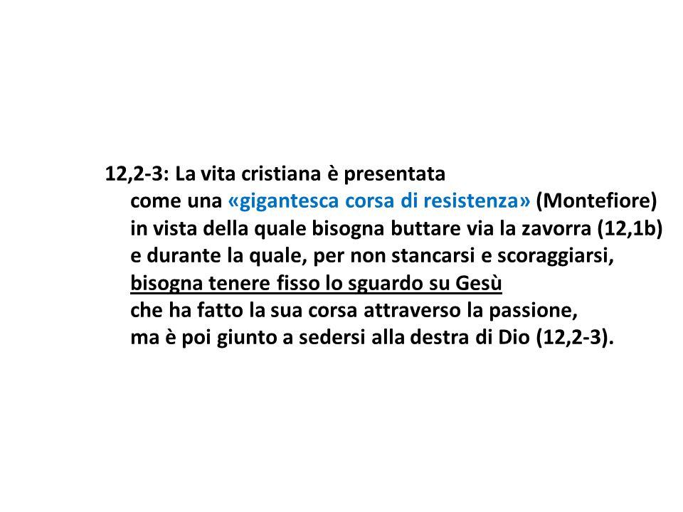 12,2-3: La vita cristiana è presentata