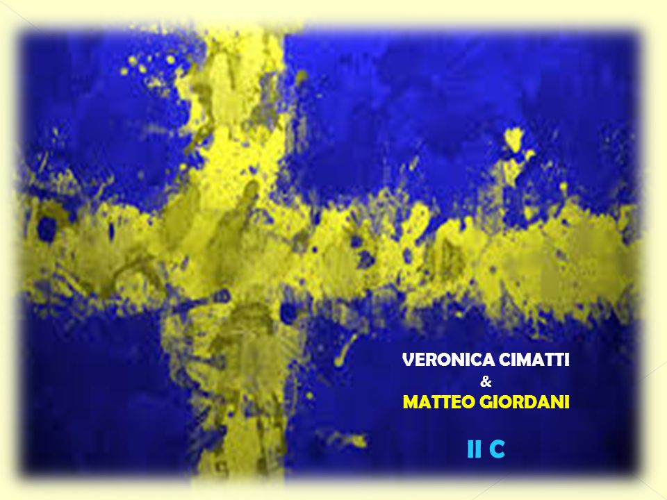 VERONICA CIMATTI & MATTEO GIORDANI II C
