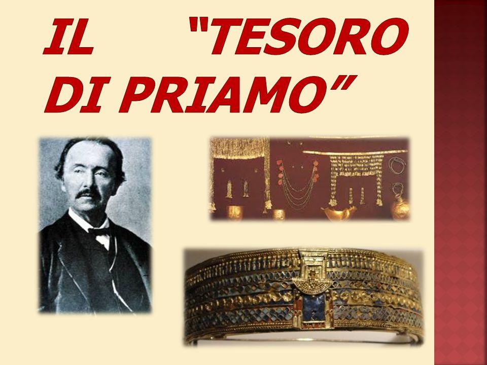Schliemann e il Tesoro di Priamo