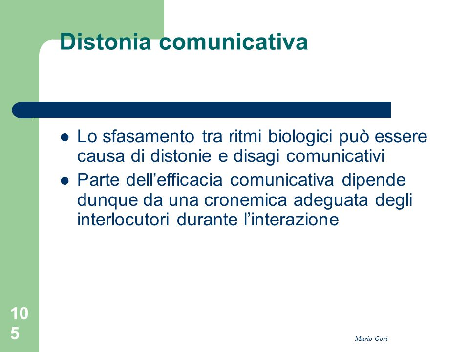 Distonia comunicativa