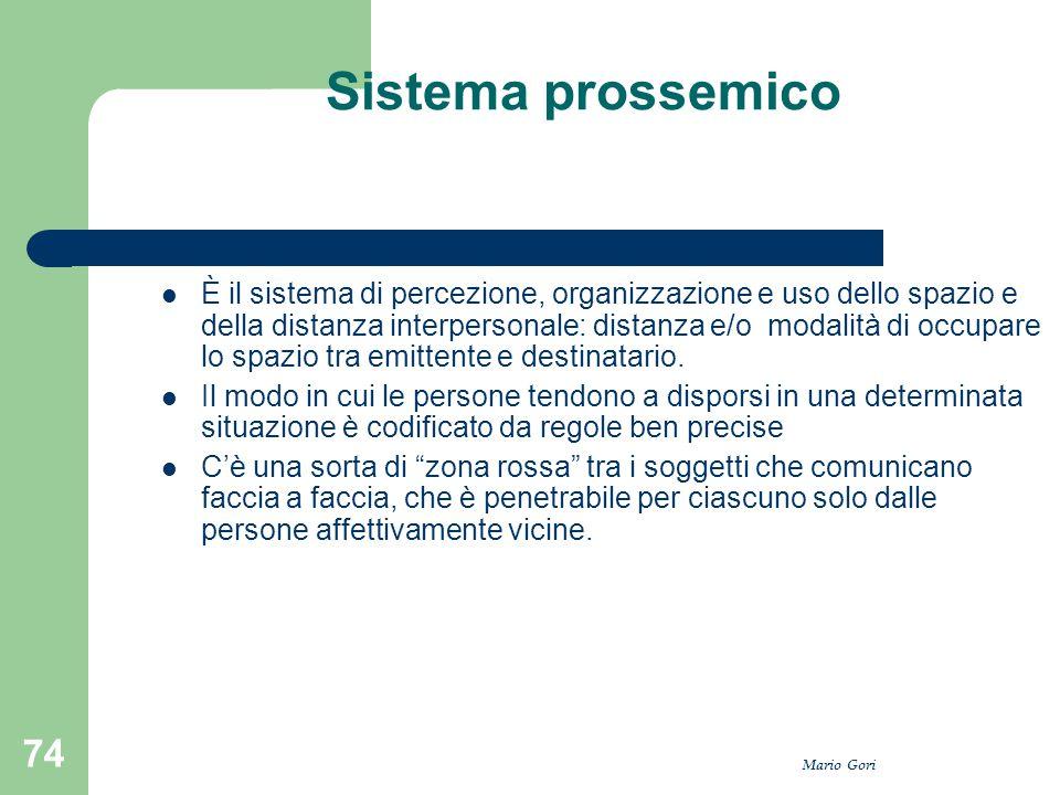 Sistema prossemico