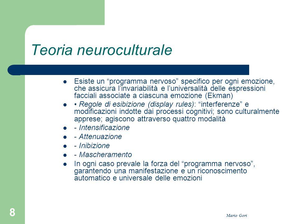 Teoria neuroculturale