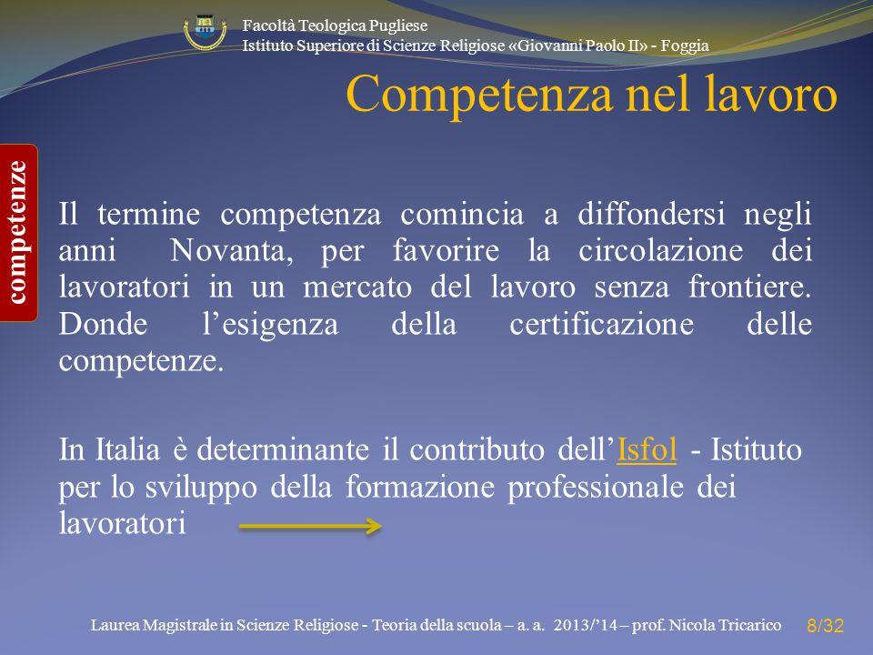 Competenza nel lavoro