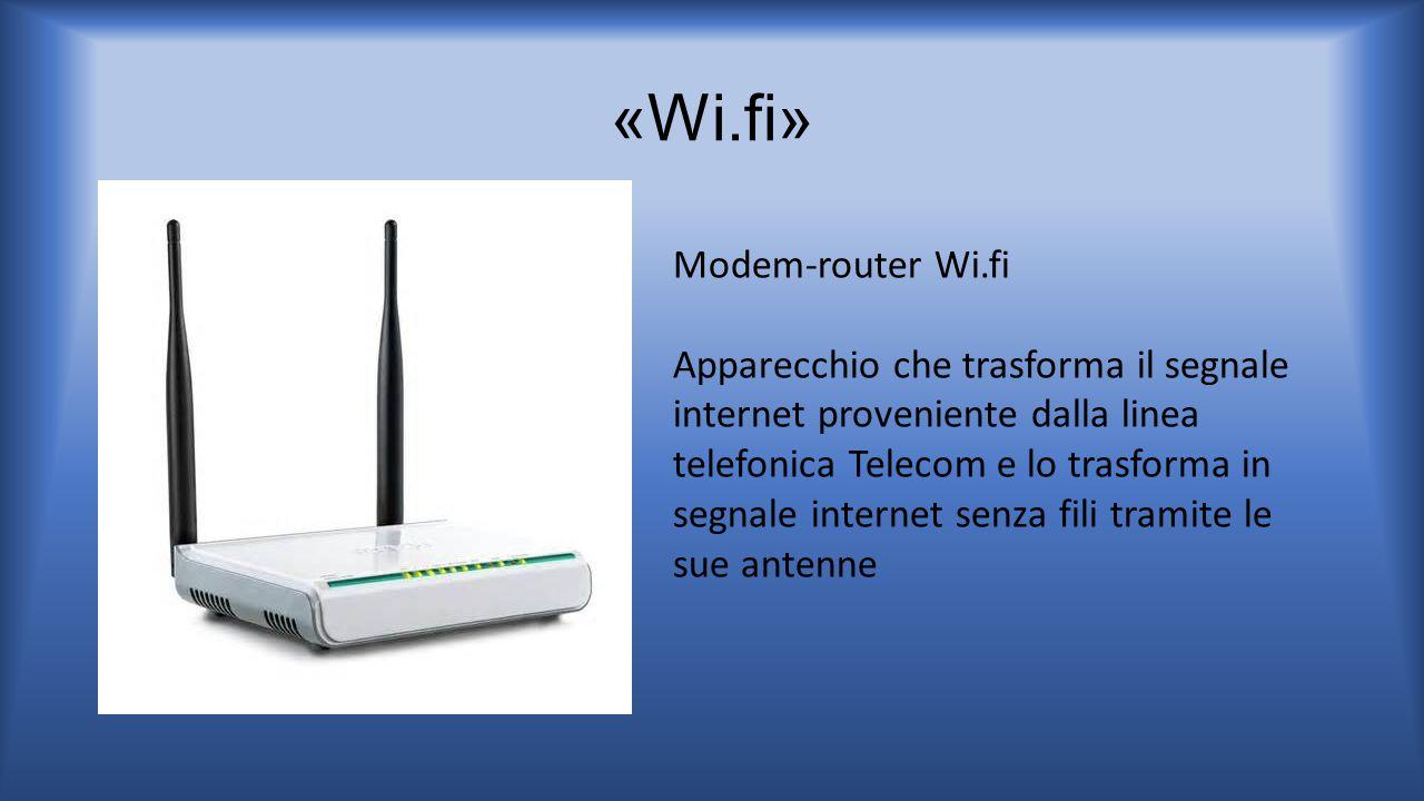 «Wi.fi» Modem-router Wi.fi