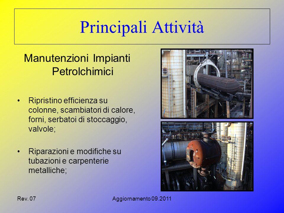 Manutenzioni Impianti Petrolchimici