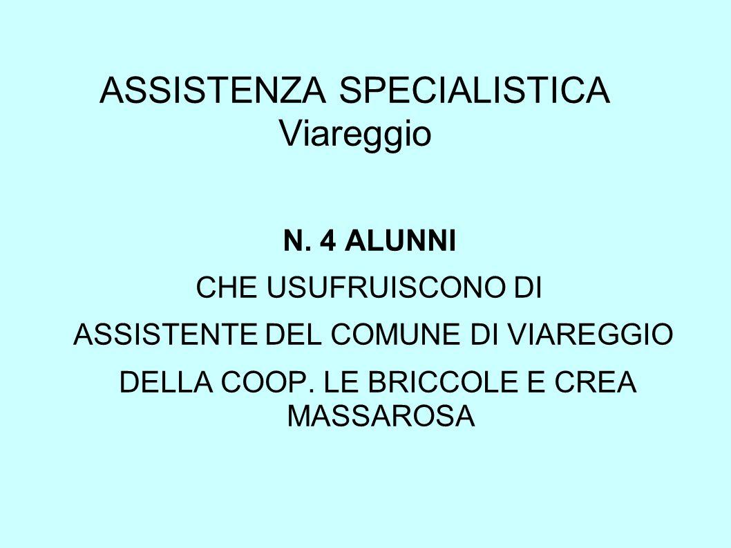 ASSISTENZA SPECIALISTICA Viareggio