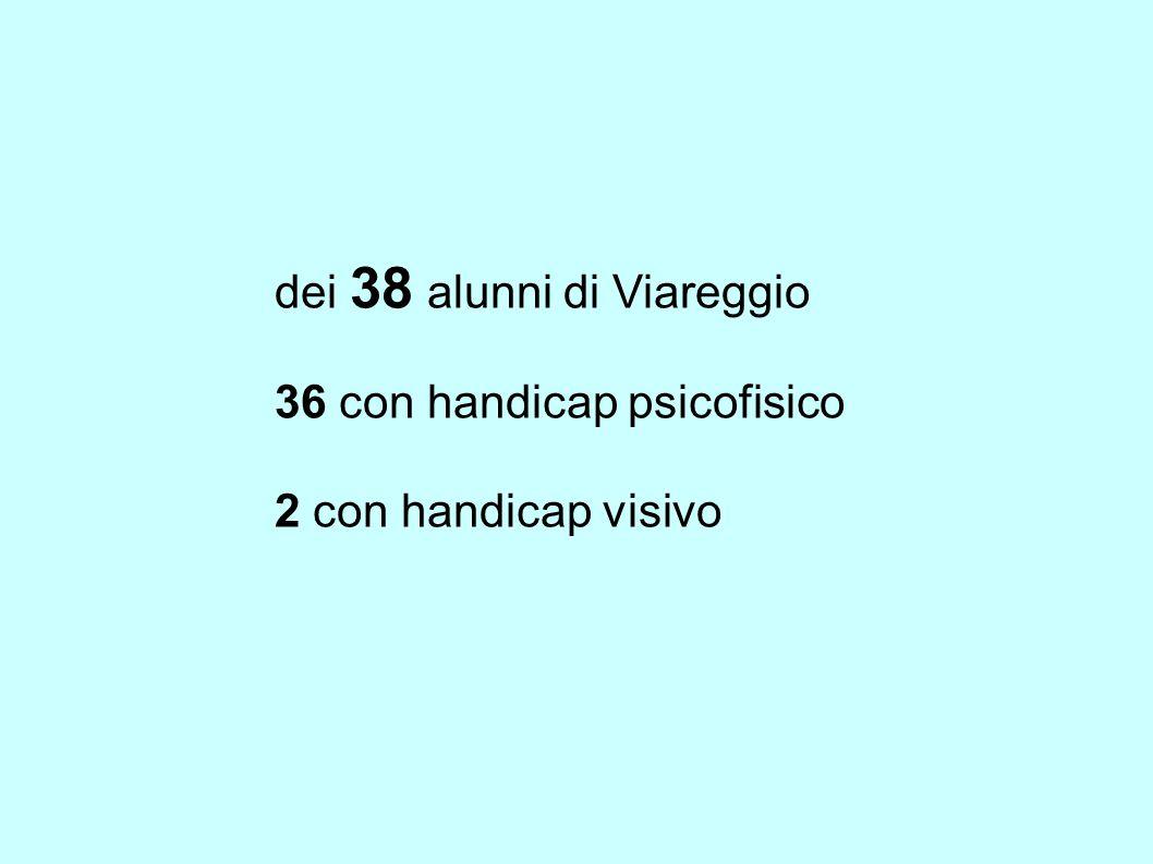 dei 38 alunni di Viareggio