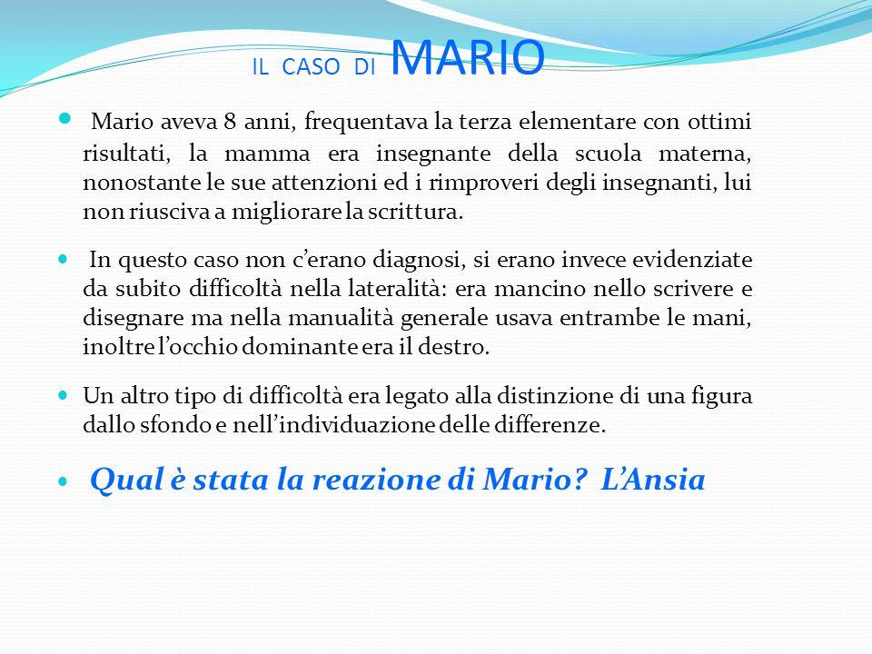 IL CASO DI MARIO