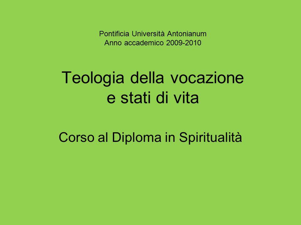 Corso al Diploma in Spiritualità