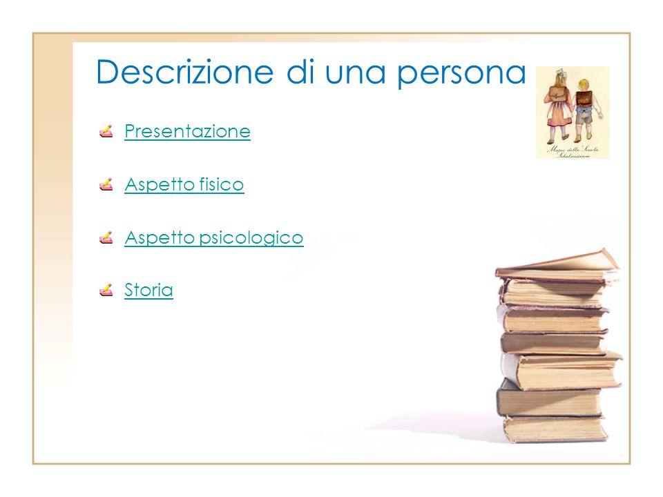 Descrizione di una persona
