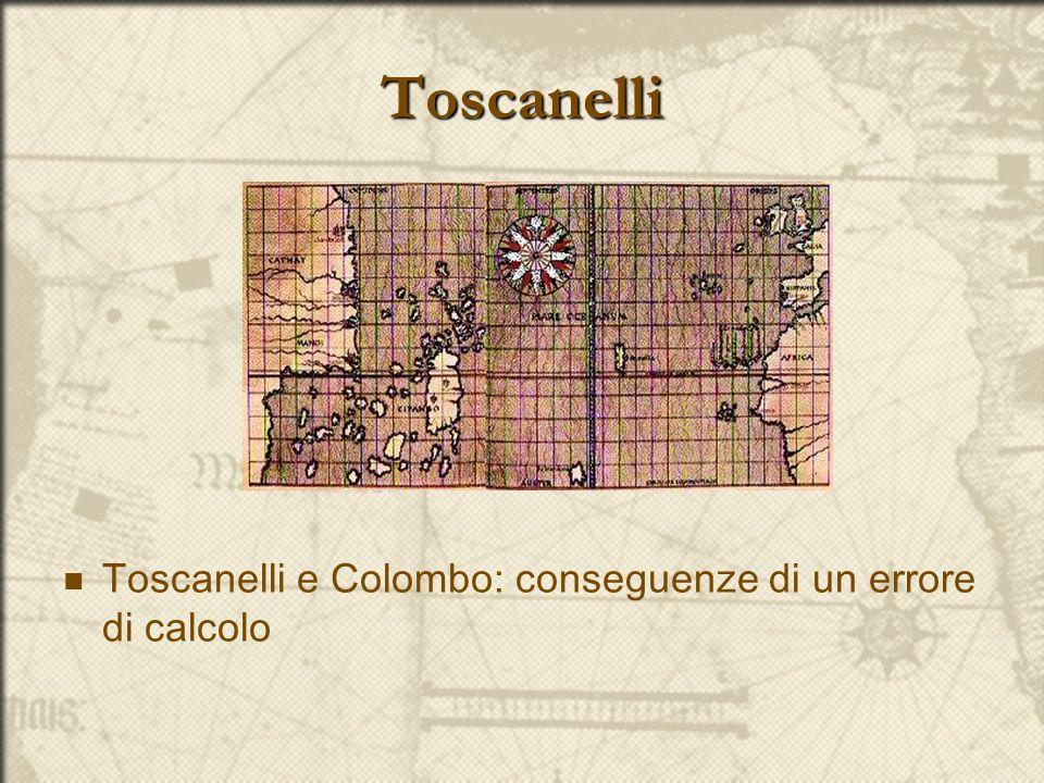Toscanelli Toscanelli e Colombo: conseguenze di un errore di calcolo