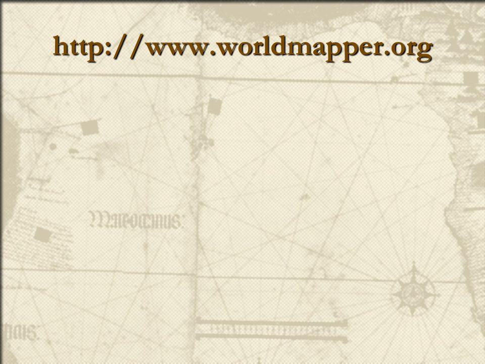 http://www.worldmapper.org