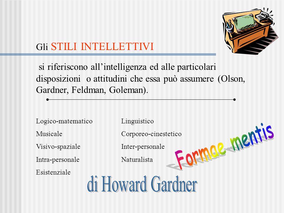 Formae mentis di Howard Gardner