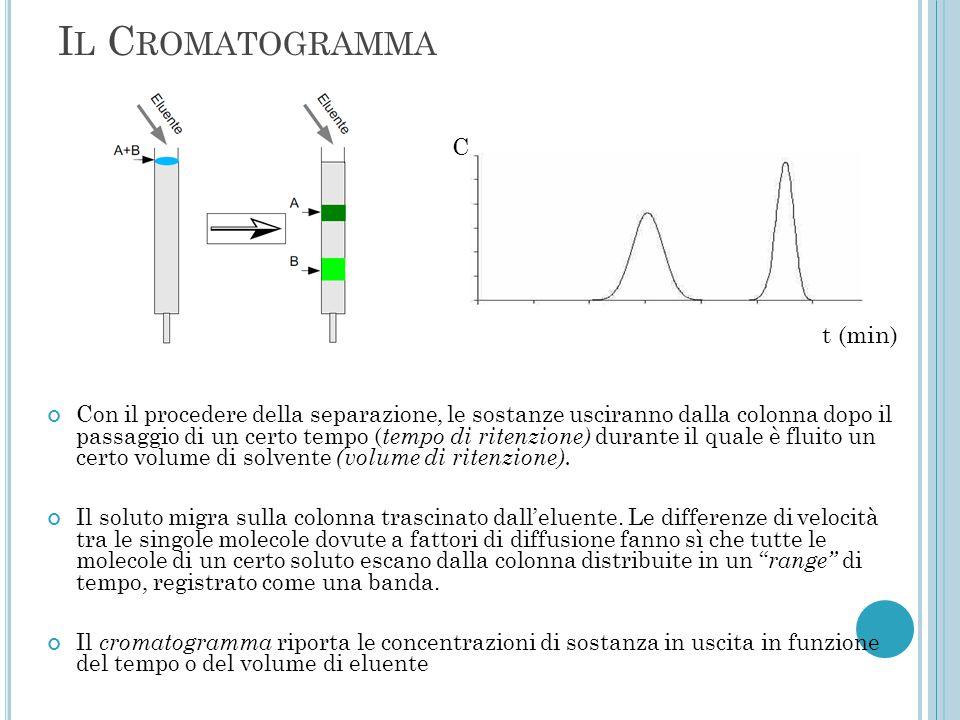 Il Cromatogramma C t (min)