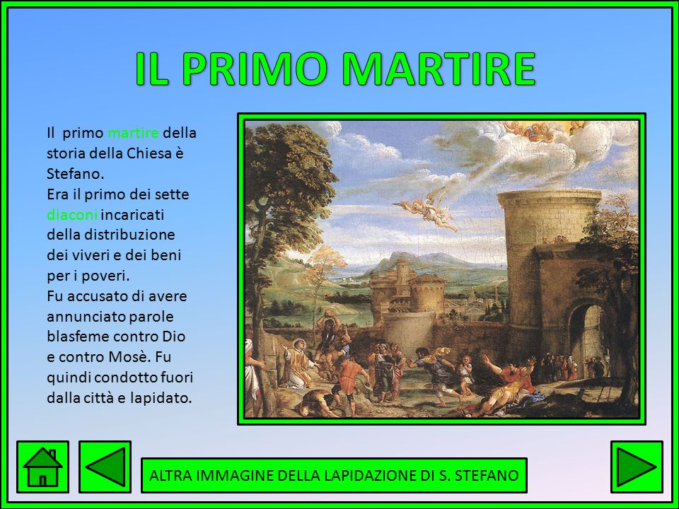 ALTRA IMMAGINE DELLA LAPIDAZIONE DI S. STEFANO