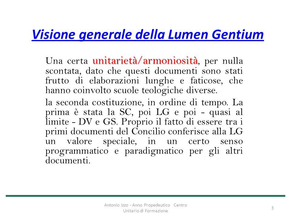 Visione generale della Lumen Gentium