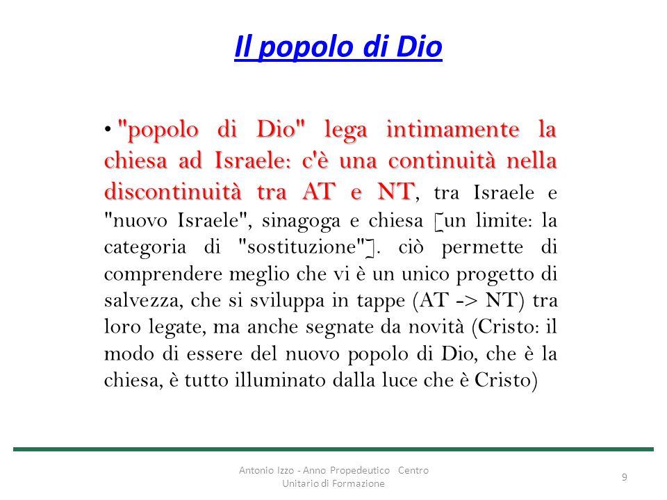Antonio Izzo - Anno Propedeutico Centro Unitario di Formazione