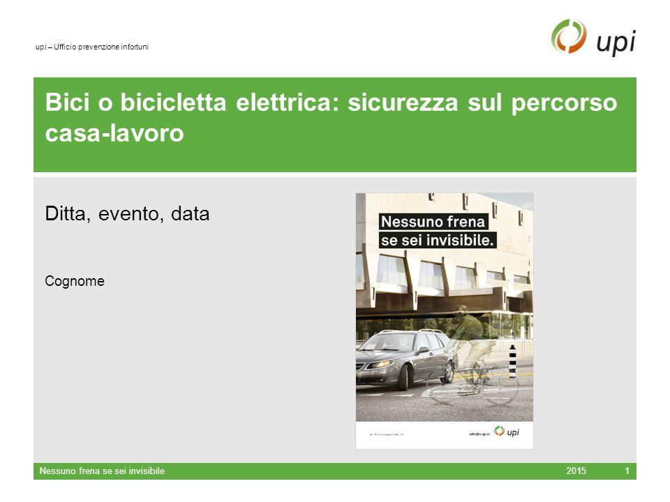 Bici o bicicletta elettrica: sicurezza sul percorso casa-lavoro