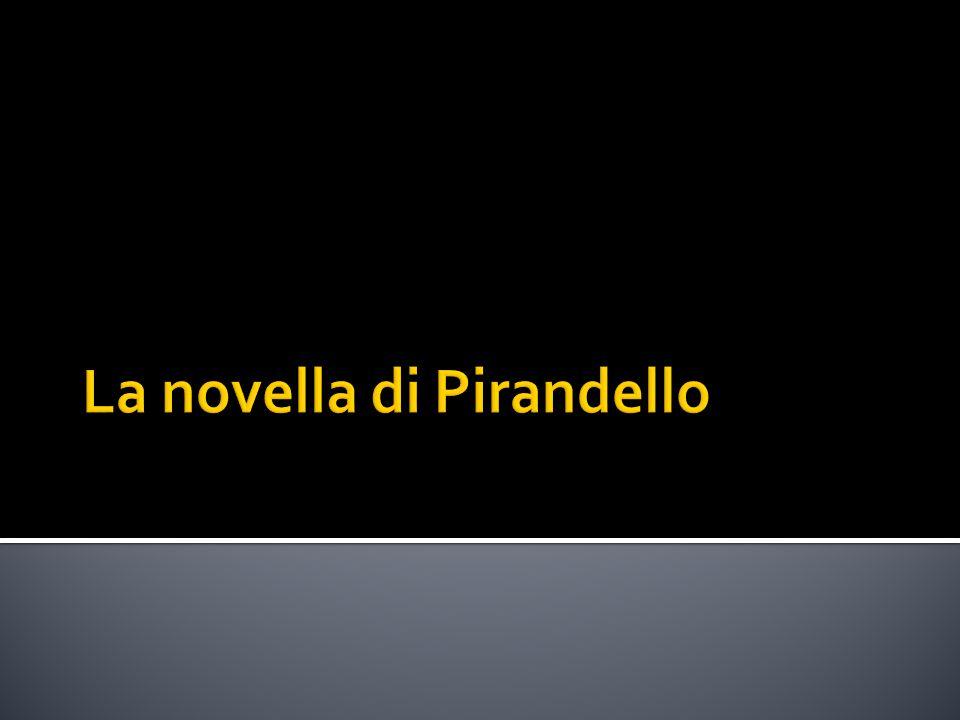 La novella di Pirandello