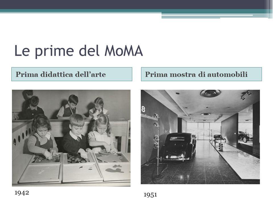 Le prime del MoMA Prima didattica dell'arte Prima mostra di automobili
