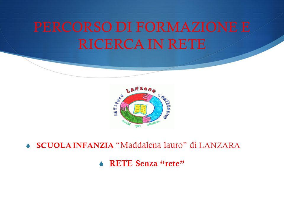 PERCORSO DI FORMAZIONE E RICERCA IN RETE