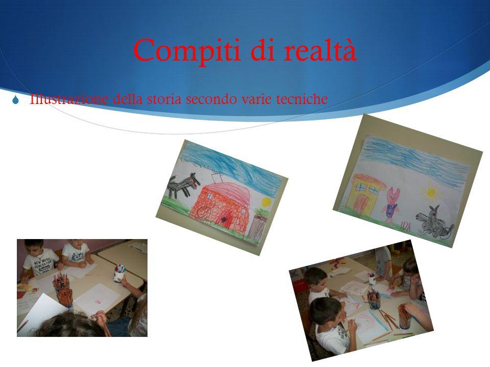 Compiti di realtà Illustrazione della storia secondo varie tecniche